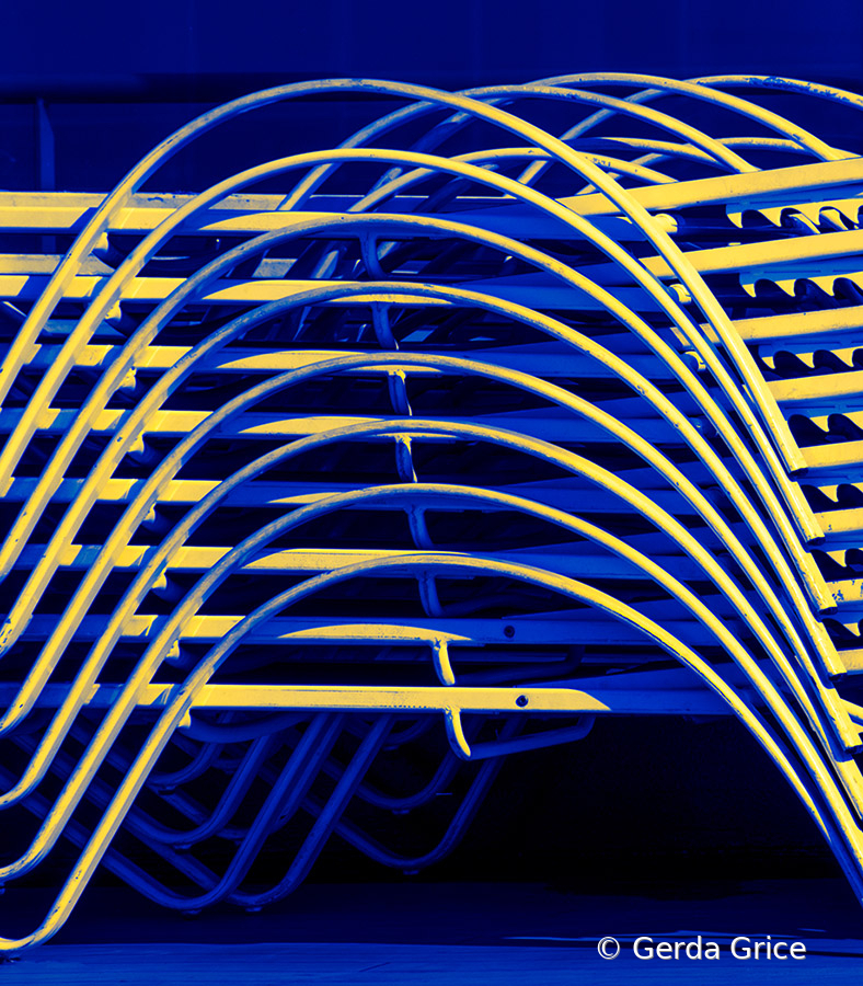 Deck Chair Abstract