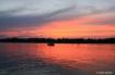 Sunset Boat  Keyp...