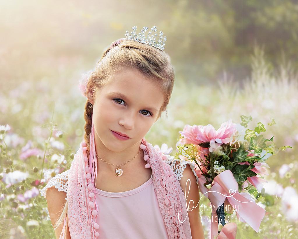 A Princess in Her Garden