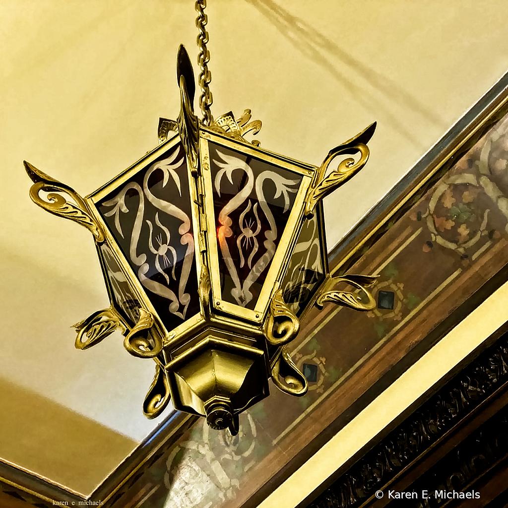 chapel light glow - ID: 15851478 © Karen E. Michaels