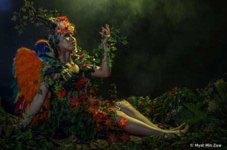 goddess of forest