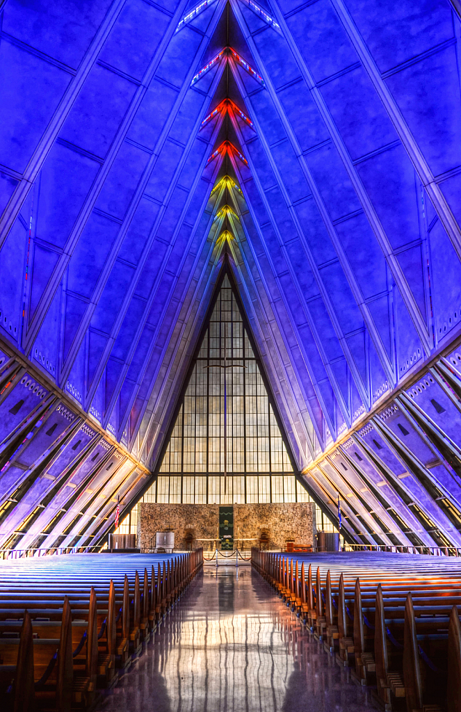 US Airforce Academy Chapel