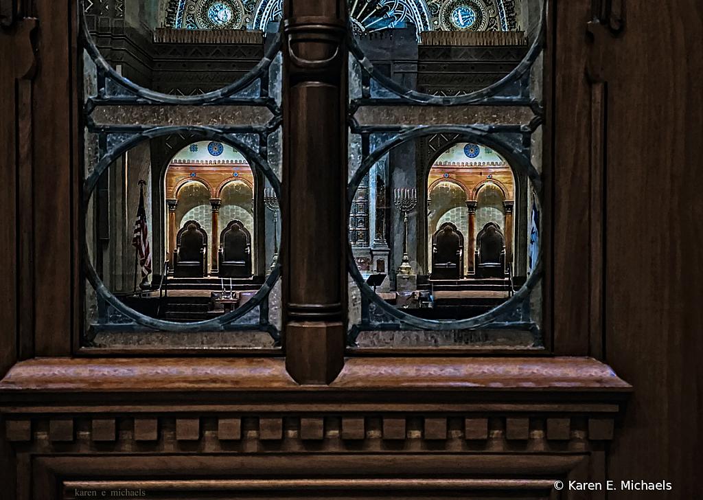 Through Lobby Windows - ID: 15854493 © Karen E. Michaels