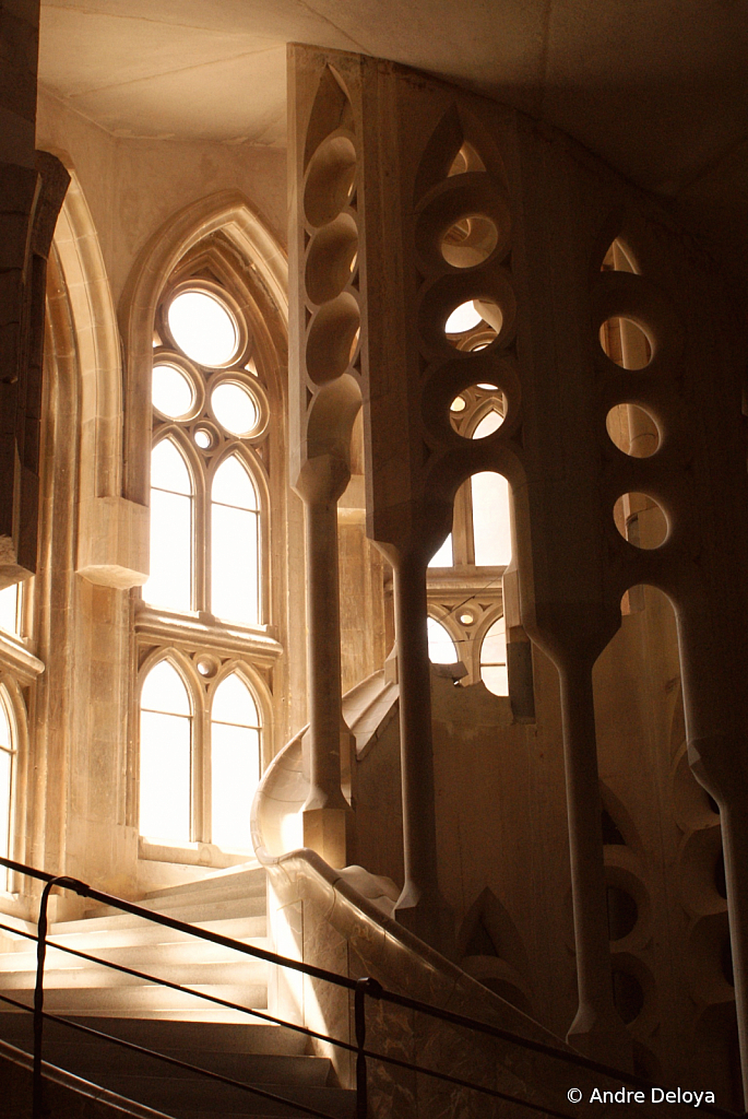 Sagrada Stairway