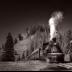 © John E. Hunter PhotoID# 15867194: Cumbres & Toltec  Train at Cumbres pass