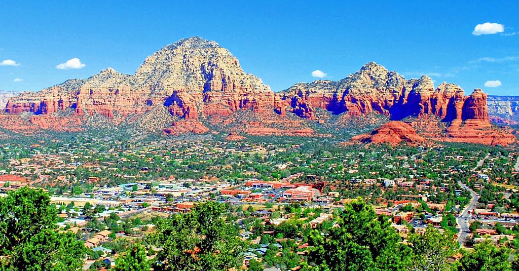 View North from Sedona, Arizona