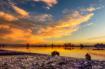Sunset over U Bei...
