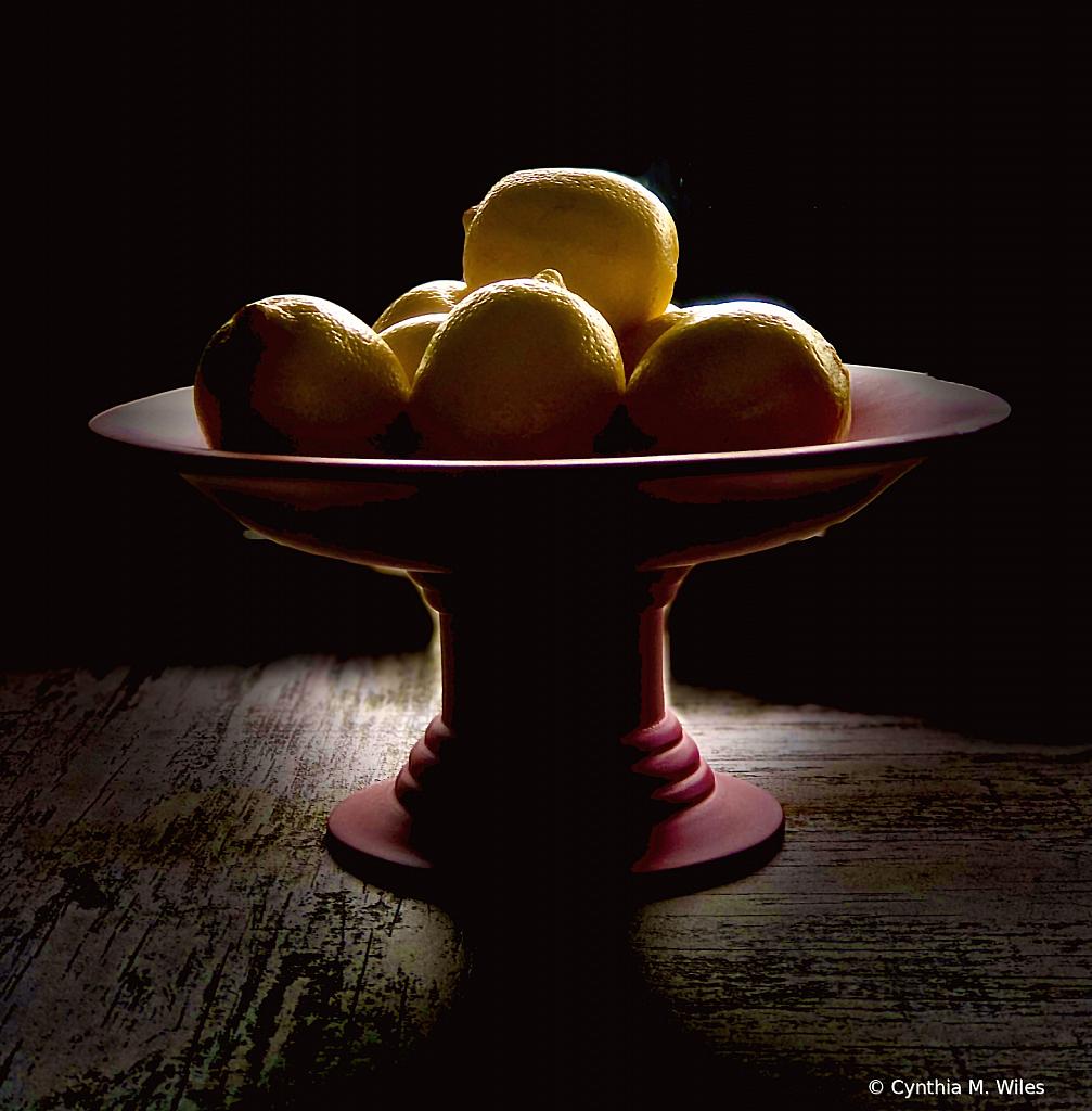When Life Hands You Lemons - ID: 15872795 © Cynthia M. Wiles