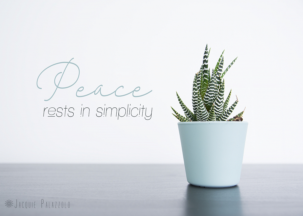 PeaceIsInTheSimpleThings - ID: 15874179 © Jacquie Palazzolo