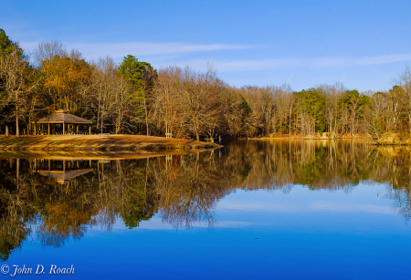 Afternoon Reflections at Three Lakes