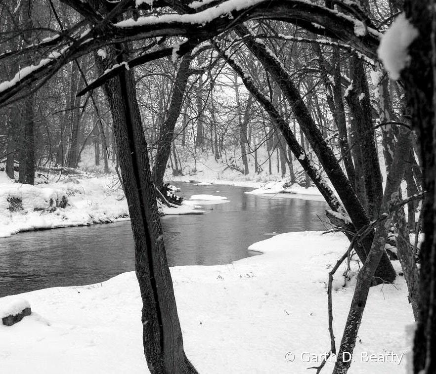 Riverbend Park in Winter