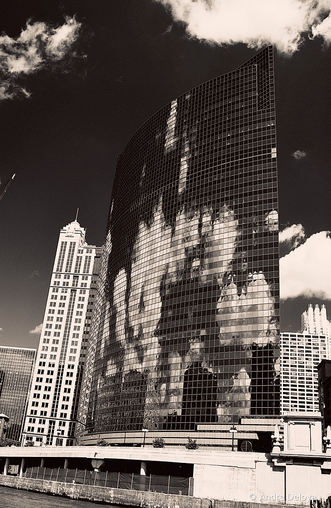 Clouds on Chicago Canvas