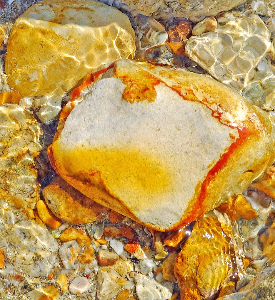 In water Pebbles. - ID: 15879627 © Elias A. Tyligadas