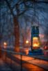 Snowy Night In Th...