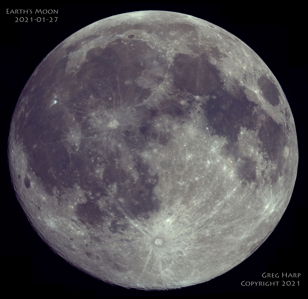 Earth's Moon 2021-01-27 - ID: 15881766 © Greg Harp