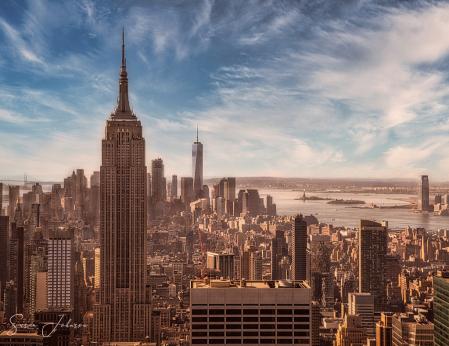 Winter Morning in Manhattan