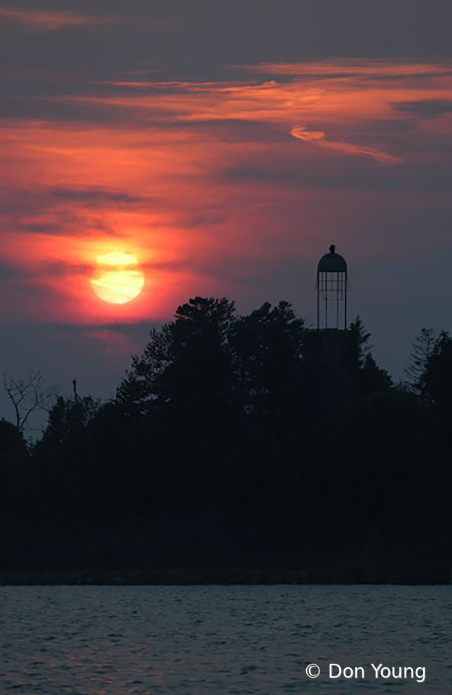 Birdcage Lighthouse - ID: 15883673 © Don Young