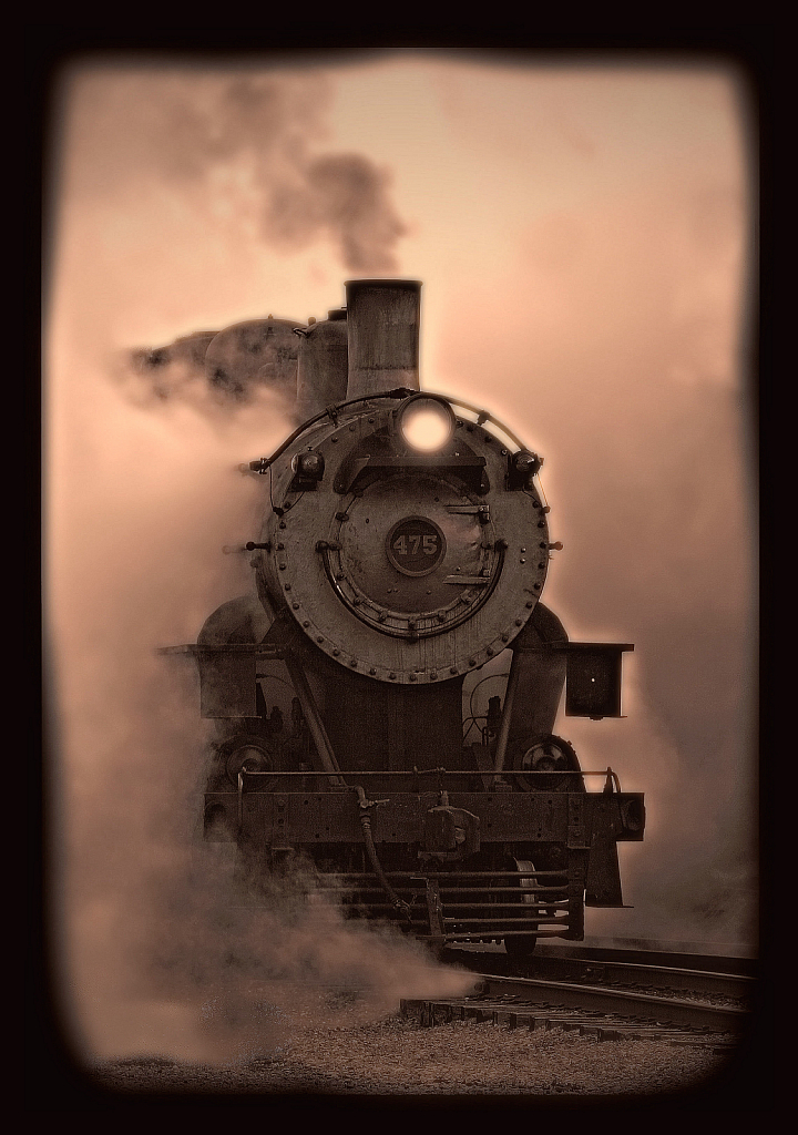 steam sepia - ID: 15884674 © William Greenan