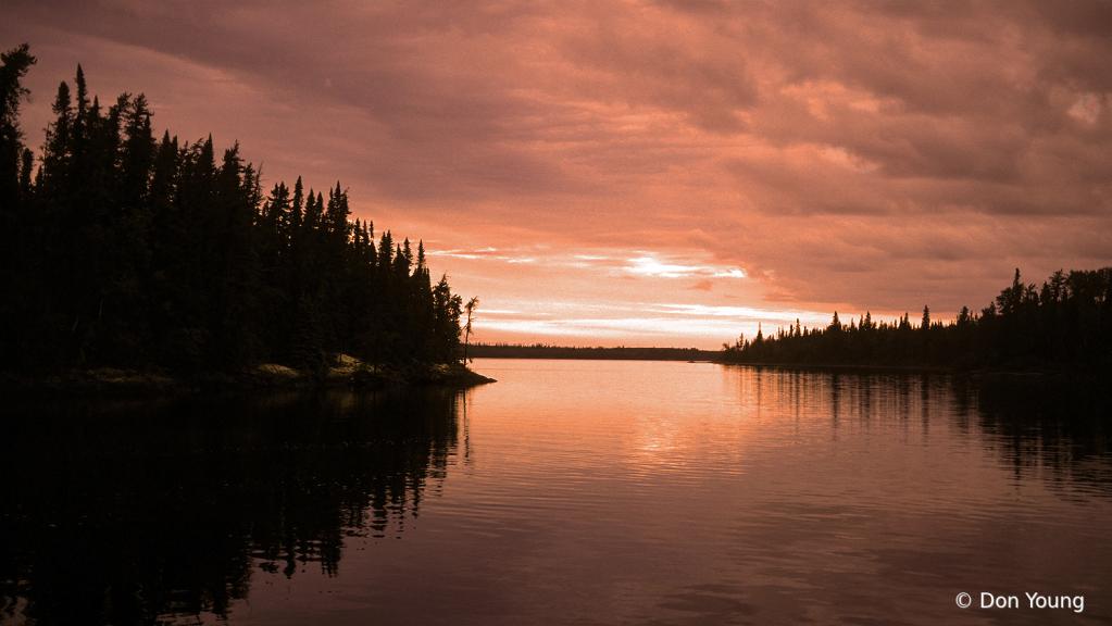Mamakwash Lake Evening - ID: 15895031 © Don Young