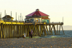 The Pier at Sunse...