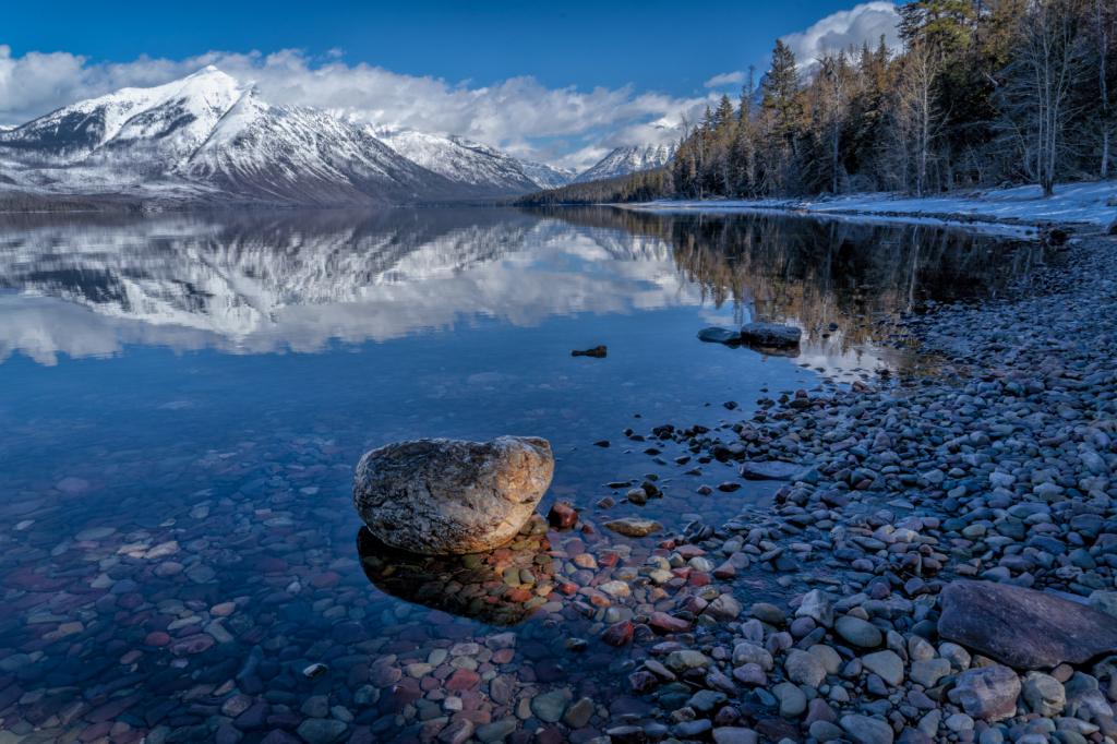 McDonald Lake - Glacier National Park