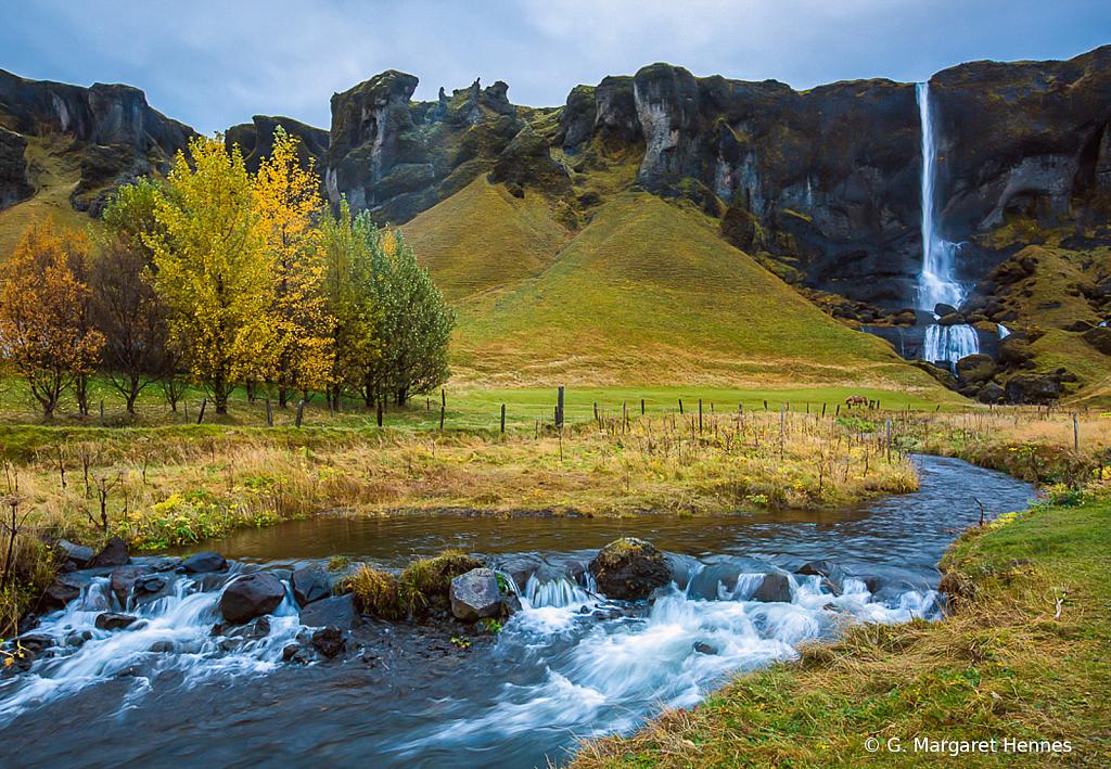 Kirkjuber Waterfall