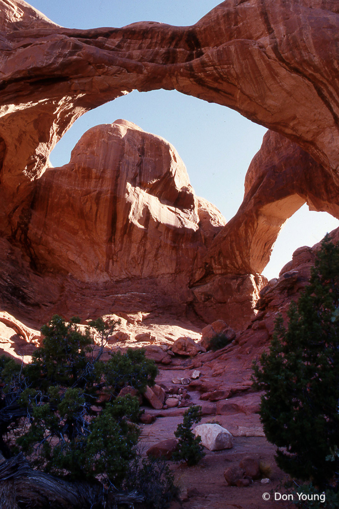 Double Arch, Arches National Park - ID: 15901301 © Don Young
