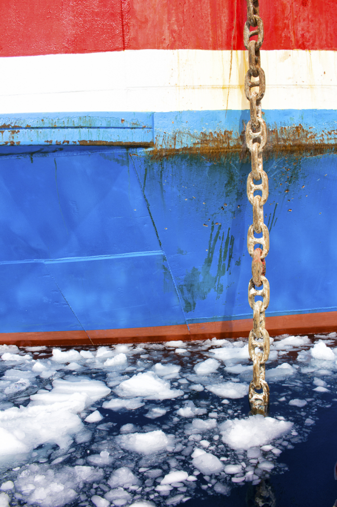 Anchor Chain and Ice