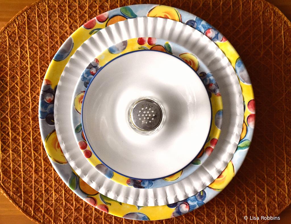 2021 Photo Challenge - Dining Room Circles