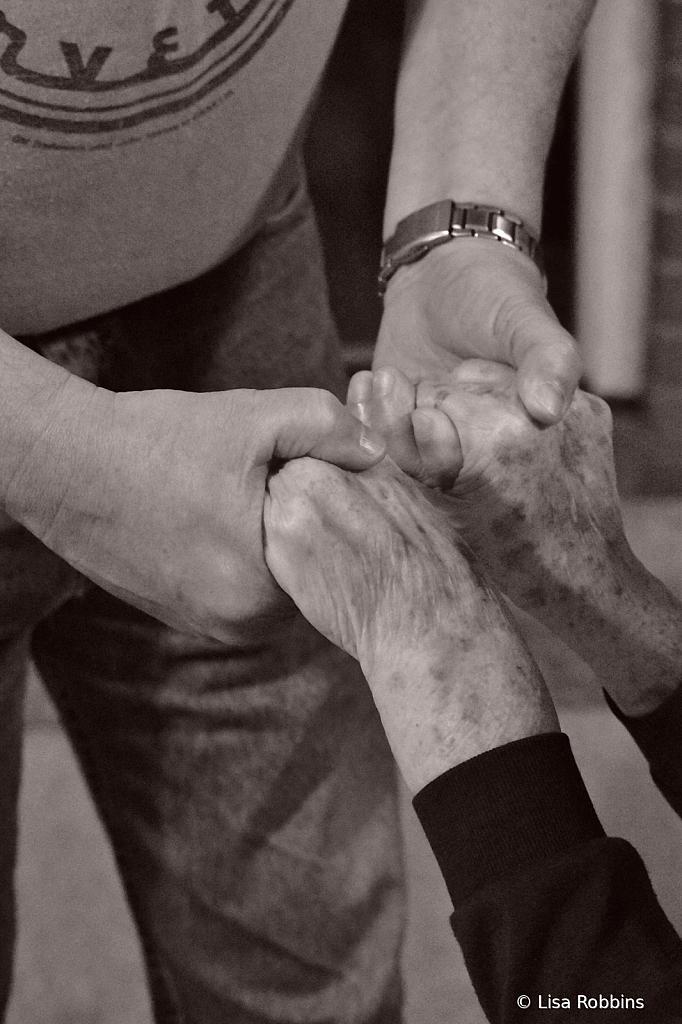 2021 Photo Challenge - Hands Helping Hands