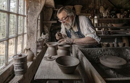 Potter at Old Sturbridge Village