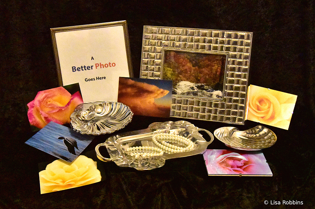 2021 Photo Challenge- Silver, Pearls & Photos