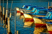 ~ ~ BOATS IN A RO...