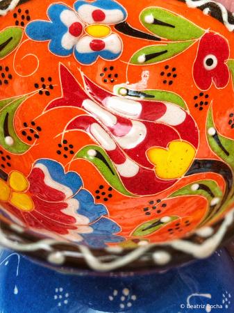 2021 Photo Contest - Ceramics in Orange Blue