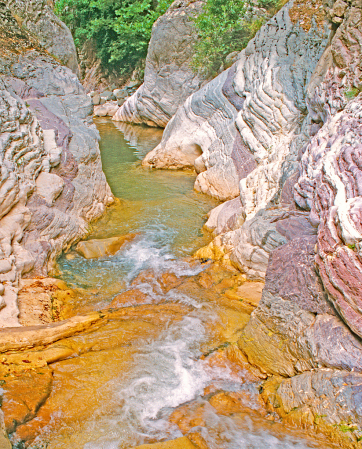 Easy flow in the Rocks.