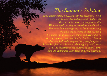 Native American Inspired Solstice Blessings