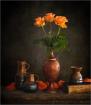 Orange Roses and ...