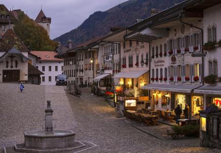 Twilight in the Village