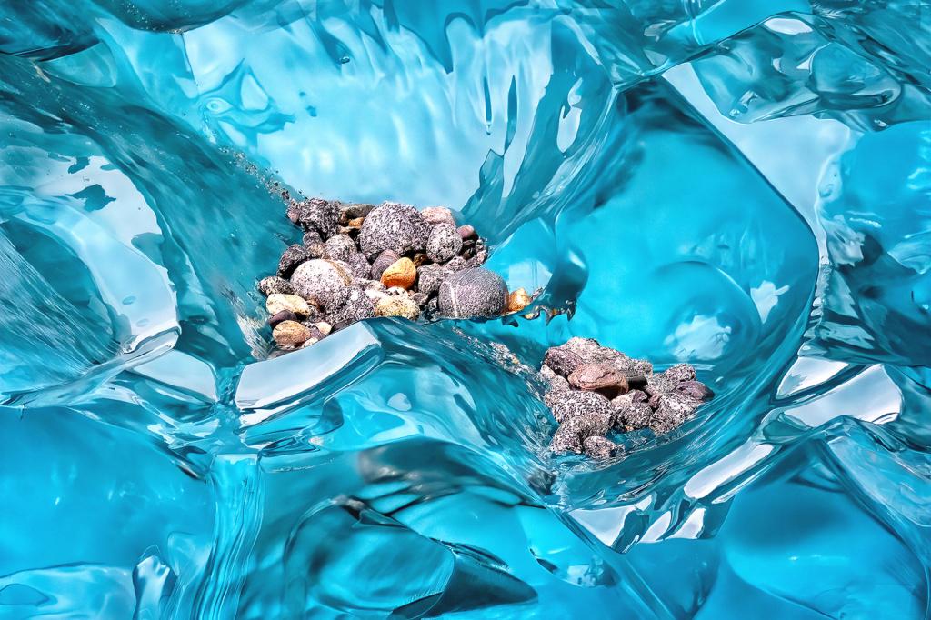 April 2021 Photo Contest Grand Prize Winner - Glacial Debris
