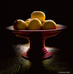 Red Bowl of Lemon...