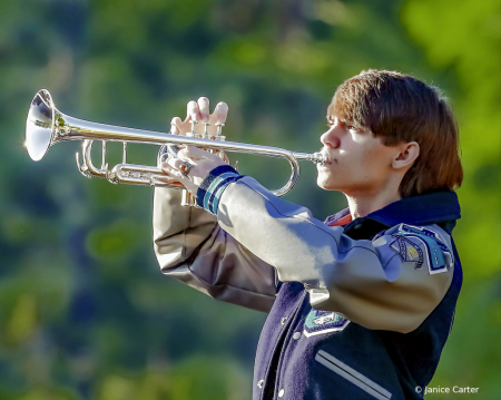Young Man with Trumpet
