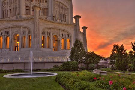 Bahai Sunset