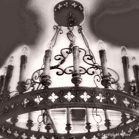 Chandelier & The Mouse House