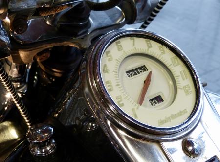 Old Harley tach