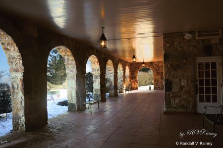 Mountain Lake Lodge arches...