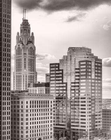 Skyscraper Variations in Columbus, Ohio-1
