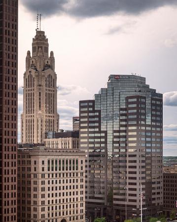 Skyscraper Variation in Columbus, Ohio-2