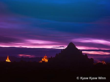 Golden Minutes in Bagan