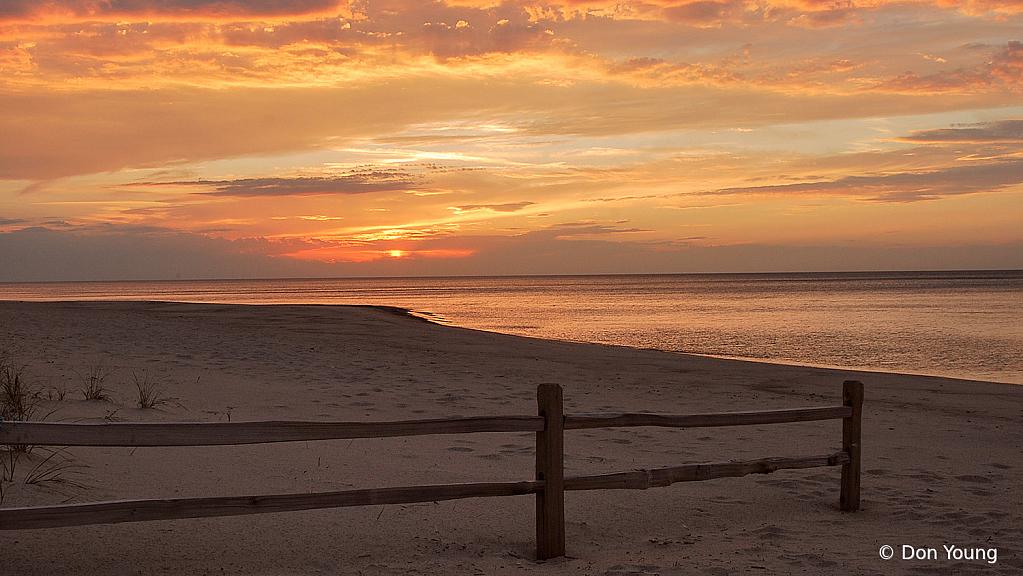 Sunset on Lake Michigan - ID: 15927418 © Don Young