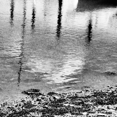 Reflections Of Love At Mirror Lake